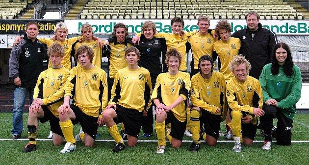 Stålkams guttelag tapte 0-5 mot Bodø/Glimt i kretsfinalen.