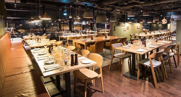 Nykommer med gårdskonsept: Gård Nordic Kitchen vil gi gjestene en følelse av å sitte rundt et bord i et gårdshus. ALLE FOTO: VIDAR SANDNES