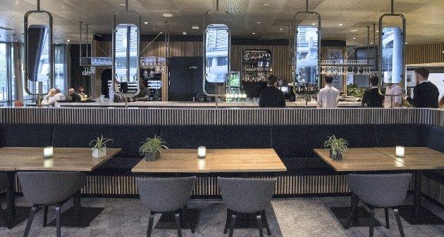 Stilrent: 26 North holder til i stilrene og flotte lokaler i Radisson Blu på Gardermoen. Foto: Vidar Sandnes