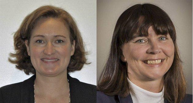 Sigrid Eskeland Schütz og Ingunn Elise Myklebust.