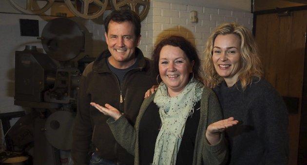 2018: Årets nye skuespillere: Dette er årets nye skuespillere, sier Christin Grilstad Prøis og presenterer Sturla Berg-Johansen og Line Cecilie Verndal.