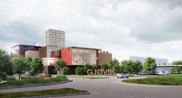 KULTURHUS: CC Gjøvik har levert et forslag til nytt kulturhus i Gjøvik som konsulentene mener er av de beste. Nå starter diskusjonen, som kan bli langt bredere enn spørsmålet om tomtevalg.