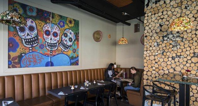 Potensiale: Pancho's på Torvet i Lillestrøm er virkelig blitt et sted å teste for alle som elsker mexicansk mat. Men restauranten bør seg seg om etter en penere innpakning. foto: Vidar Sandnes