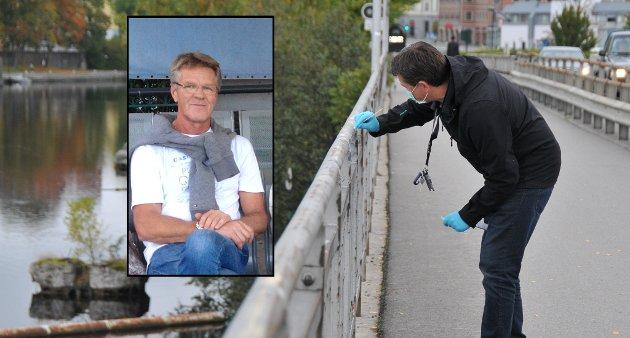 I september 2017 ble Hjalmar Johnsen funnet død i havnebassenget i Skien. To menn (35) ble pågrepet og siktet i saken.