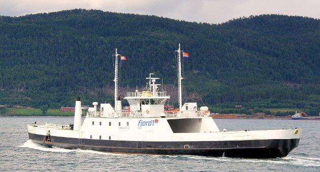 En ferge av denne typen er tenkt til å seile på sambandet Bjarkøy - Senja.