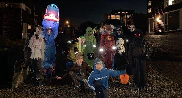 Halloween på Sjøhagen