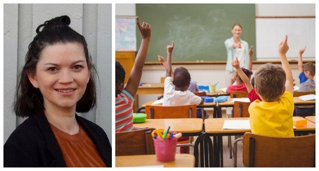 Jeg vil være en lærer som setter elevene først uten at det går på bekostning av egen familie. En lærer som føler seg trygg når jeg utøver den jobben jeg trives best i, nemlig å følge opp dine barn, skriver lærer Marit Anita Dahl.