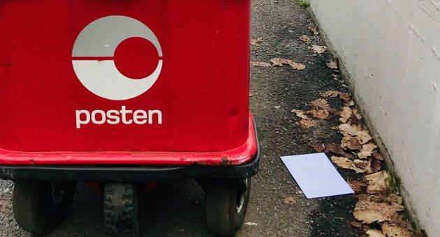 Er det ikke så nøye med at posten skal fram?