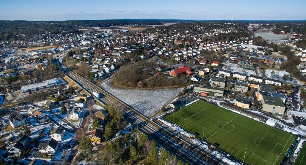 Ønsker tunnel: Den tunnelen Ambjørnrød  har kjempet for var ment å komme opp i dagen ved Merkurbanen. Ragnar Christiansen mener utsettelse av prosjektet igjen gjør det aktuelt å bygge tunnel.