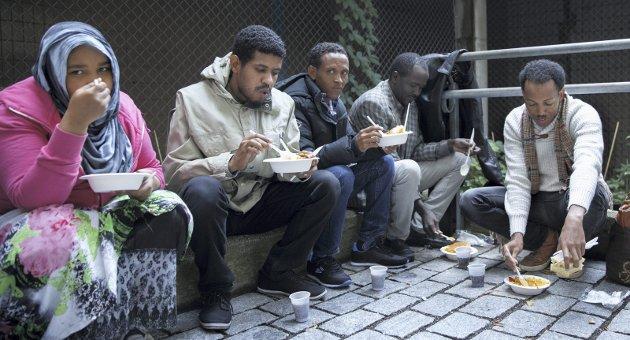 NY ORDNING: Kommentatoren tar til orde for en ny flyktningpolitikk