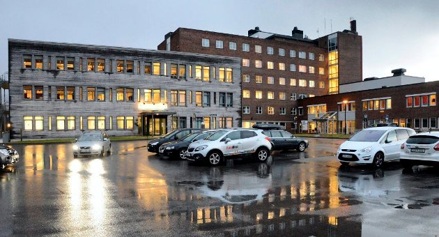 Helgelandssykehuset i Mo i Rana.