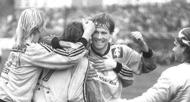 Da Eivind Arnevåg ga LSK 2–0 begynte folk å grine