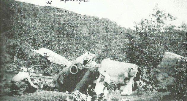 Den svarte fredagen: 9. februar 1945 styrta ein Mustang ved Bygstad og piloten Cecil Claude Caesar omkom.