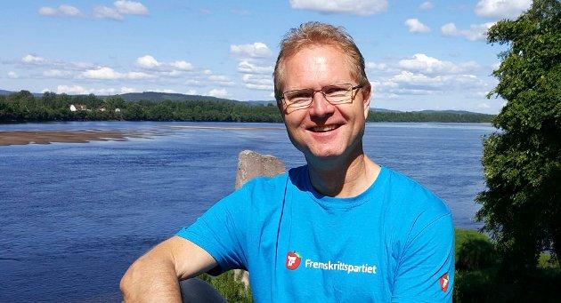SKRYT: Innsenderen mener Tor Andre Johnsen (bildet) skryter på seg æren for alt som har skjedd i Kongsvingerregionen de siste årene.