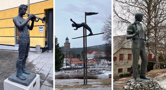 Statuer av mennesker til inspirasjon