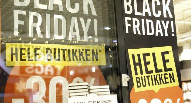 Black Friday varer nå hele uka.