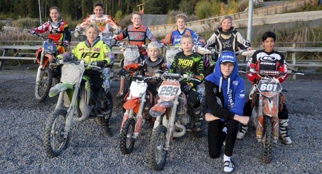 NMK Notodden: Bak fra venstre: Gard Bakken (12), Mats Bakkhus (14), Andreas F. Meyer (12), Simen Pedersen (13), Anna Maja Gjøysdal. Foran fra venstre: Halvor Øygarden (11), Halvor Iversen (7), Sondre Øygarden (9), Eskil Syftestad Eriksen (15) og Mathias E.T. Jahren (9).