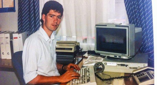 LENGE SIDEN: Som en ser har Jens Erik Mjølnerød har jobbet mer enn 30 år i databransjen ... I sin første Signert fabulerer han over utviklingen. Foto: PRIVAT