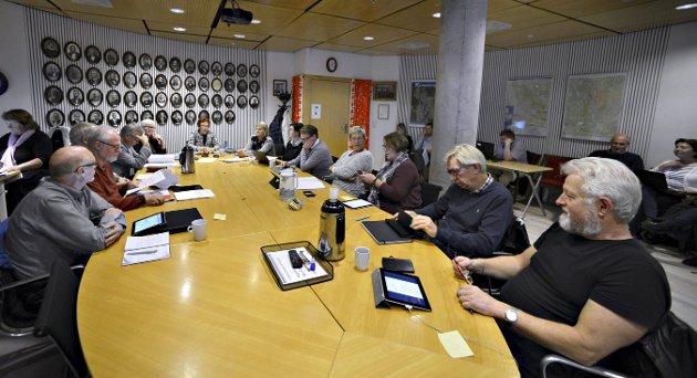 STENGTE DØRENE: Formannskapet vedtok å diskutere KKPE uten tilhørere. Bildet er tatt ved en tidligere anledning.