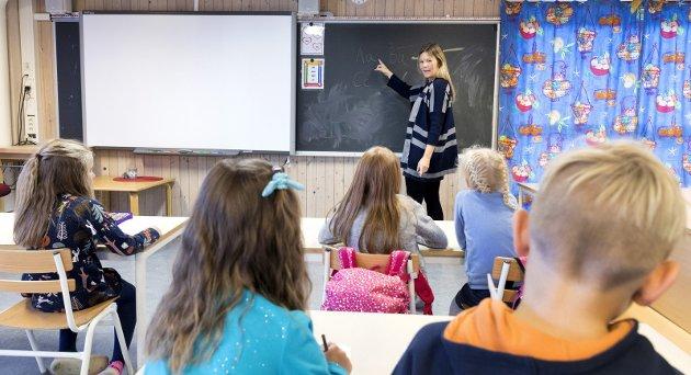 Helge Sten Thorbjørnsen skriver om den norske skolen i dette innlegget. «Skole og lærere skaper alltid debatt», understreker han. (Foto: Gorm Kallestad, NTB Scanpix)