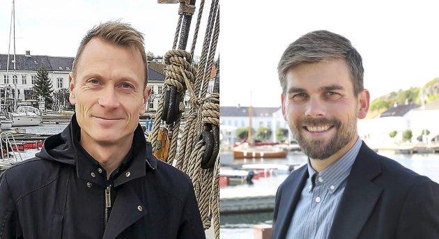 Innlegg: Torolv Kroglund (t.v) og Bård Birkedal