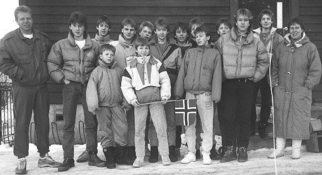 1989: Brandbus 14-åringer  spilte seg helt fram til semifinalen i Trondheim Open.