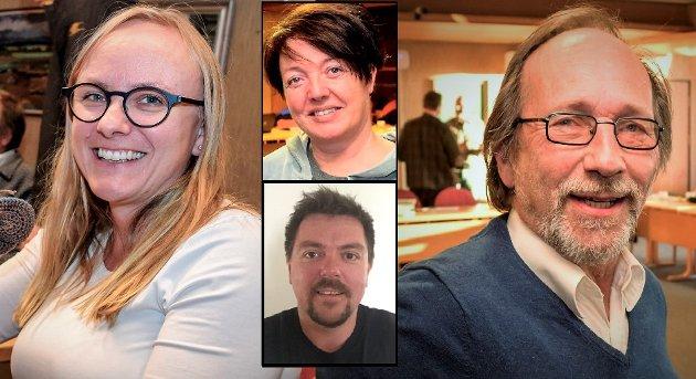 POLITIKK: Høyres kommunestyregruppe i Søndre Land svarer ordførerne i Søndre Land og Vestre Toten.
