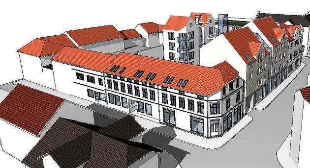 Ole H. Thoresen mener at Liefting Arkitektur og Restaurering viser at man kan fornye bykvartal med løsninger som harmonerer med eksisterende bygninger.
