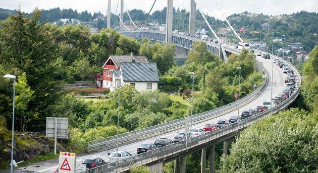 Rune tror ikke ny bro til Sotra vil hjelpe.