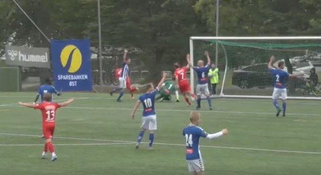 Til slutt ble det 4-0 til Eik Tønsberg over Åssiden i søndagens oppgjør.