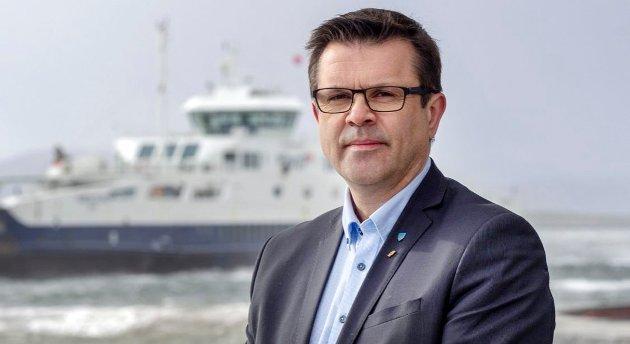 Møreaksen er ei katastrofe for samferdselsfylket Møre og Romsdal, meiner Frank Sve.