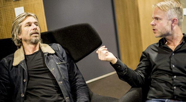 For 21 år siden intervjuet disse to den gang ukjente nordmennene Blurs Damon Albarn på Quartfestivalen.