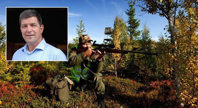 JAKT: Staten har i mange år begunstiget seg selv med momsfritak på jaktinntekter, mens private må betale moms. Dette må endres, skriver  Gunnar A. Gundersen, næringspolitisk sjef, Glommen Mjøsen Skog.