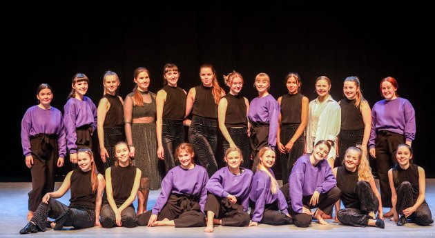 «When the body speaks» - Årets danseforestilling fra Kongsbakkens danseelever.