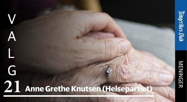 FRISKE FOLK: – Om lønnsomhet kan mye sies, men verken for enkeltmennesker eller samfunnet finnes det en høyere verdi enn en frisk befolkning, skriver Anne Grethe Knutsen i Helsepartiet. (illustrasjonsfoto)