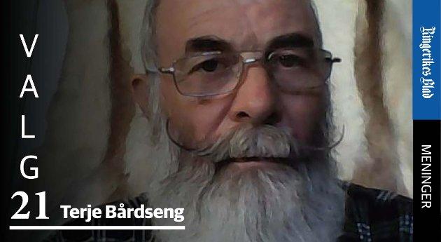 EU? – Skal Norge fortsatt være grunnlovsfestet som et fritt og selvstendig rike, spør Terje Bårdseng.