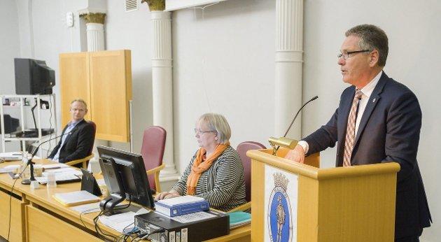 «PEER GYNT»: – Når det kommer til åpenhet i praksis, har Halden Høyre og ordføreren gitt seg selv rollen som Peer Gynt, skriver Hanne-Merete Jensen i dagens Signert. Arkivfoto: Stein Johnsen