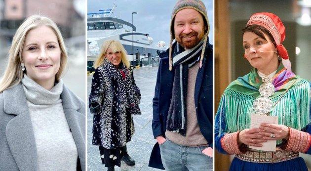 Sigrid Ina Simonsen, Kari-Anne Opsal, Tom Einar Karlsen og Barbro Hætta er blant navnene fra Harstad som kan bli del av den nye regjeringen.