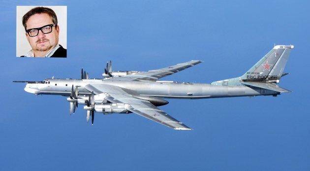 Fly av denne typen, med atomvåpen ombord,  har i det siste patruljert langs Norges sjøgrense utenfor Nordland, som del av en større russisk militærøvelse.