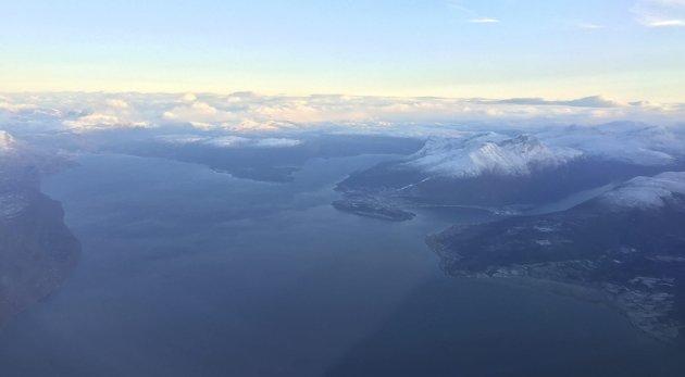 TIL TROMSØ: Et samlet Ofoten bør inngå i en region med Tromsø, som vi allerede har viktige allianser med, dersom det ikke blir ett Nord-Norge.Foto: Christian S. Andersen