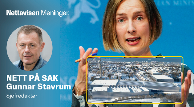 MILLIARDPROSJEKT: Det gigantiske havromsenteret til 9,3 milliarder kroner har blitt brysomt for  næringsminister Iselin Nybø.