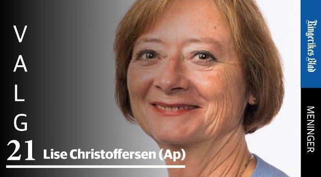 TETTERE OPPFØLGING: – Mange skoler, lærere og rådgivere gjør en god jobb med dette i dag, men det er dessverre ikke nok, skriver Lise Christoffersen (Ap).