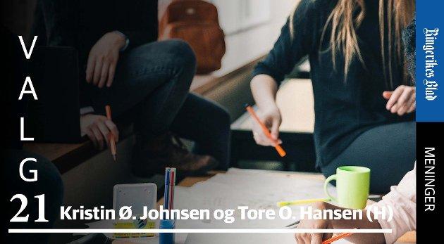 FRITT VALG: – Vi har møtt mange elever og foreldre som støtter opp om fritt skolevalg, skriver Høyre-representantene. (illustrasjonsfoto)
