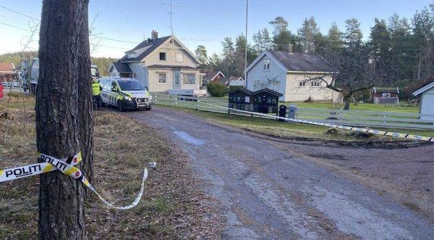 DØDE: Kvinne som ble påkjørt av søppelbilen i Spars vei mandag døde av skadene. Foto: Sindre Øen