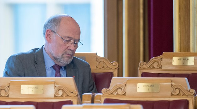 Svein Roald Hansen, stortingsrepresentant for Østfold Arbeiderparti. (Foto: Terje Pedersen, NTB Scanpix)