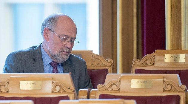 Svein Roald Hansen, stortingsrepresentant for Arbeiderpartiet. (Foto: Terje Pedersen, NTB Scanpix)