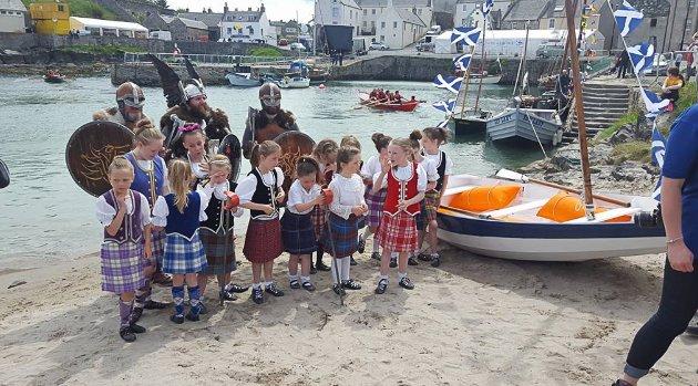 Scottish Traditional Boat Festival i Portsoy.