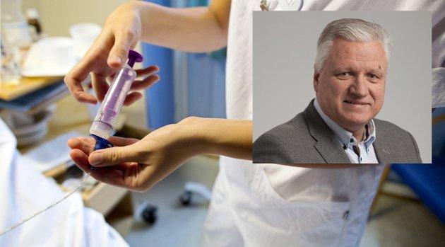 REKRUTTERING: Det er svært usikkert om økt lønn alene vil øke rekrutteringen av sykepleiere, det er i første rekke utdanningskapasiteten som vil gi flere sykepleiere i kommunene, skriver Trond Lesjø, regiondir. i KS Innlandet.