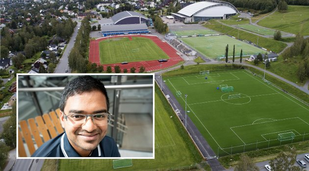 FOTBALLHALL:  en fotballhall i byen og ser for meg at Lillehammer har det i framtiden. En fotballhall er viktig for fotballen da den gir helt andre muligheter for å drive med idretten gjennom hele året. Men det kan vi ikke gjøre til enhver pris, skriver Mizanur Rahaman, gruppelder (SV), Lillehammer.