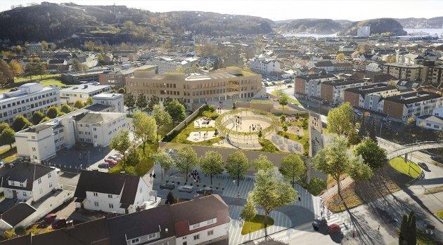 NY SKOLE: Hans Kr. Mjølnerød har engasjert seg i debatten rundt ny storskole på Os. Han stiller spørsmålstegn ved hvor gjennomtenkt prosjektet er.